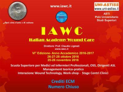 IAWC – VI° Edizione 2016-2017